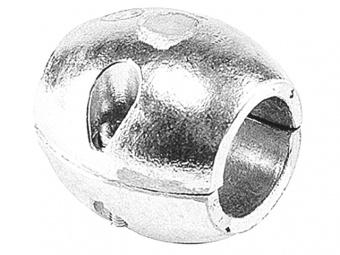 Цинковый анод Talamex овалообразный для гребного вала