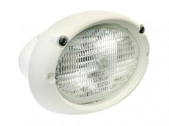 Галогенный прожектор овальный Hella 100 12/24В 160x96x126 мм встраиваемый