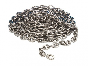 Якорная цепь Maxwell оцинкованная (в наборе)