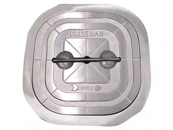 Люк палубный Freeman Marine прямоугольный из нержавеющей стали