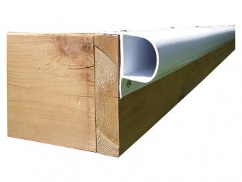 Причальный бампер Dock Edge P-Профиль 2,4 м белый