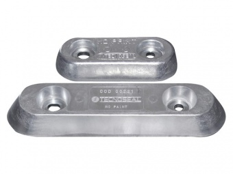 Алюминиевый анод Tecnoseal тип 15 и 25