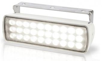 LED прожектор Hella Sea Hawk 9-33В, рассеиваемый, 136x42x49 мм