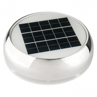Палубный вентилятор Marinco Nicro на солнечных батареях с аккумулятором (на 40 часов)