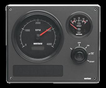Панель управления двигателем Vetus MP22B